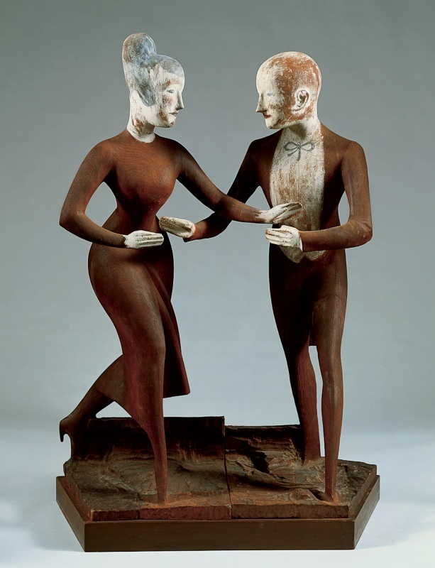 Elie Nadelman, Tango, 1920–24 whitney museum