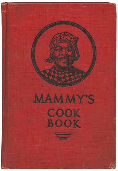 "Despite the cover and title, Katharin Bell avoids insulting her ""mammy,"" Sallie Miller, in this 1927 self-published cookbook. In fact, she may have unwittingly  made the case for intellectual property rights for her admired and accomplished cook. (From ""The Jemima Code"")"