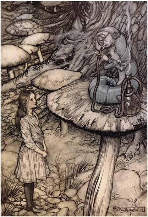 Late Victorian Era illustrator Arthur Rackham was one of Moehring's earliest influences.