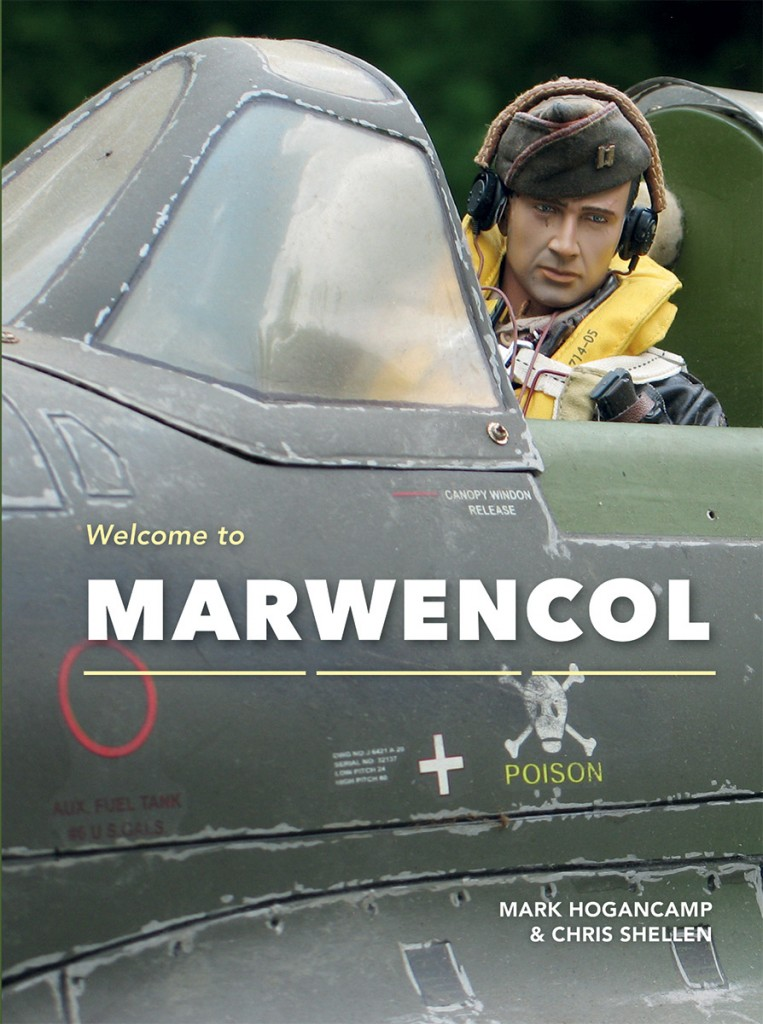 "The cover of ""Welcome to Marwencol"" shows how Mark Hogancamp weathers his model airplanes. (Photo by Hogancamp, courtesy of Princeton Architectural Press)"