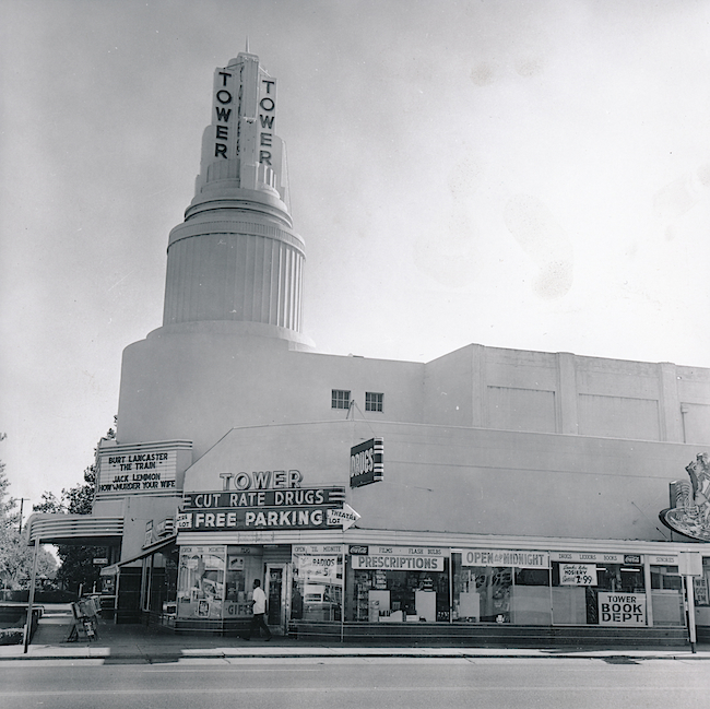 The first Tower Records was operated out of a drugstore in Sacramento, California.