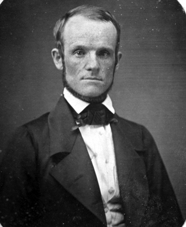 A picture, dated 1851, of John Humphrey Noyes at age 40. (Courtesy of Picador)