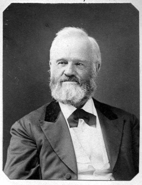 John Humphrey Noyes, az 1870-es években a képen sült lett az öregedéssel.  (Picador jóvoltából)