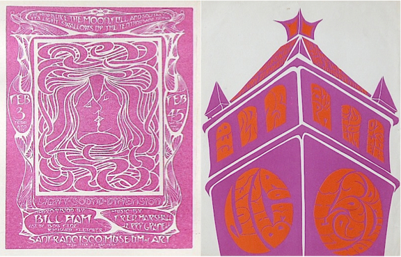A performance by Light Sound Dimension at the San Francisco Museum of Art in 1967 led to a pair of shows at UC Berkeley's Pauley Ballroom a few weeks later.