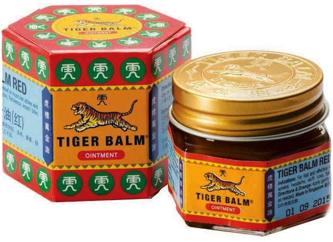 Tiger Balm has maintained its distinctive hexagonal packaging since the early 20th century.