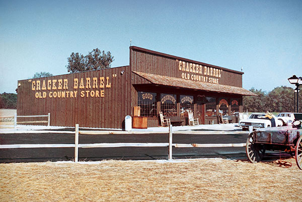 The original Cracker Barrel in Lebanon, Tennesse. (Via Cracker Barrel Old Country Store)