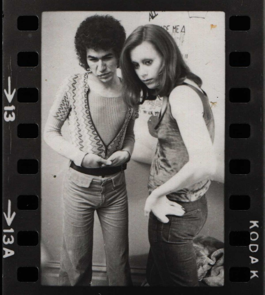 Villarrreal, left, and her friend Bobbie pose in a photoshoot during the late 1960s.