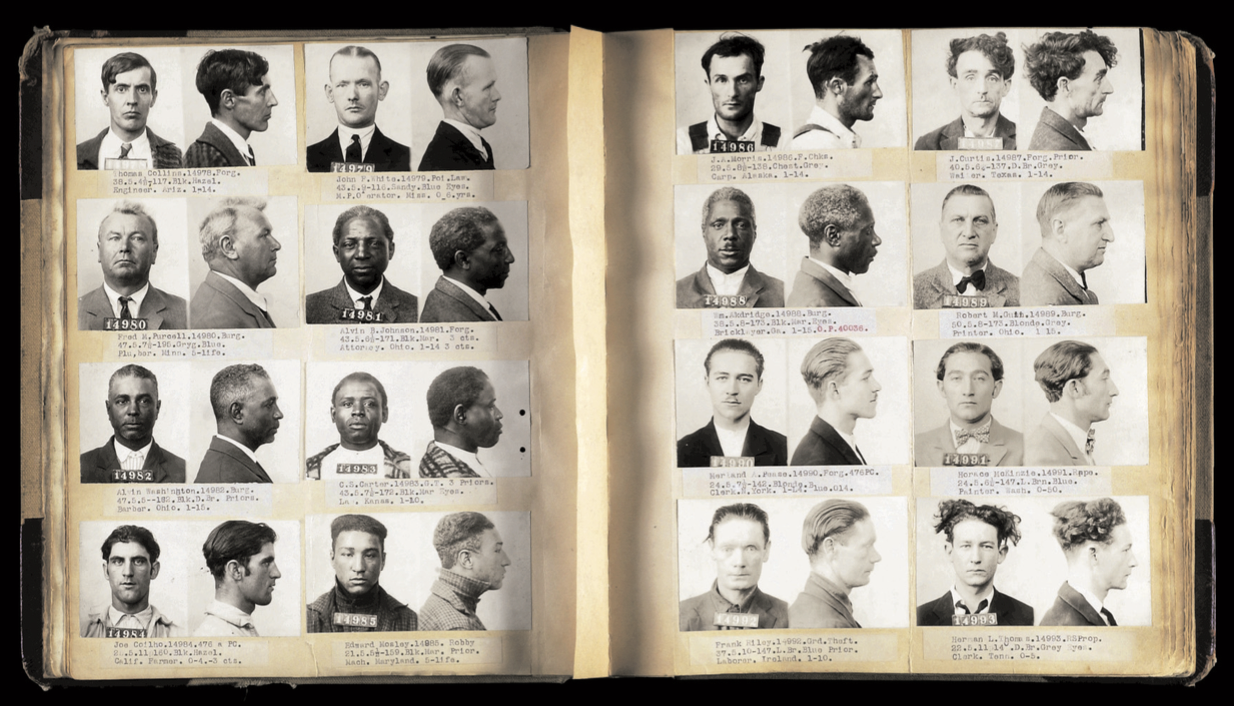 Unusual Suspects: Finding the Humanity in Vintage Mugshots