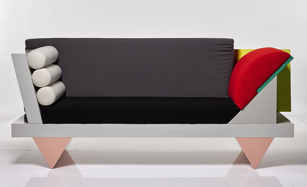 Peter Shire, 'Big Sur' Sofa (1986) final
