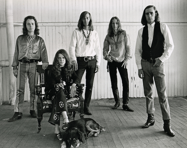 Big Brother and the Holding Company, circa 1967.