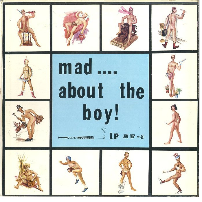 "The cover for Camp Records' ""Mad About the Boy"" used pinup imagery in an homage to Julie London's 1956 album ""<a href=""https://en.wikipedia.org/wiki/Calendar_Girl_(Julie_London_album)"" target=""_blank"">Calendar Girl</a>."" Courtesy J.D. Doyle."