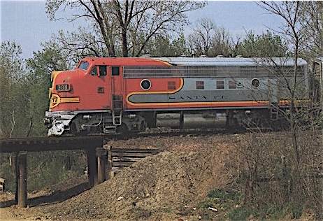"Electro-Motive sold its F-series diesel locomotive to lots of railroads, but the Atchison, Topeka & Santa Fe loco, with its ""warbonnet"" paint job, is the most iconic."