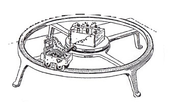 The first electric model train was made by a Vermont blacksmith named Thomas Davenport in 1835. It ran on three batteries and went around and around in a circle.