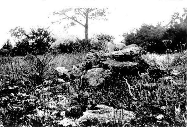 "On April 5, 1885, about a hundred men met Nat Kinney at Snapp's Bald, a treeless ridge 1.6 miles north of Kirbyville, to join the Taney County Bald Knobbers. According to ""Bittersweet"" magazine, the thick groves of trees around the base of the hill provided excellent cover. (Courtesy the Route 66 Museum and Research Center in Lebanon, Missouri)"