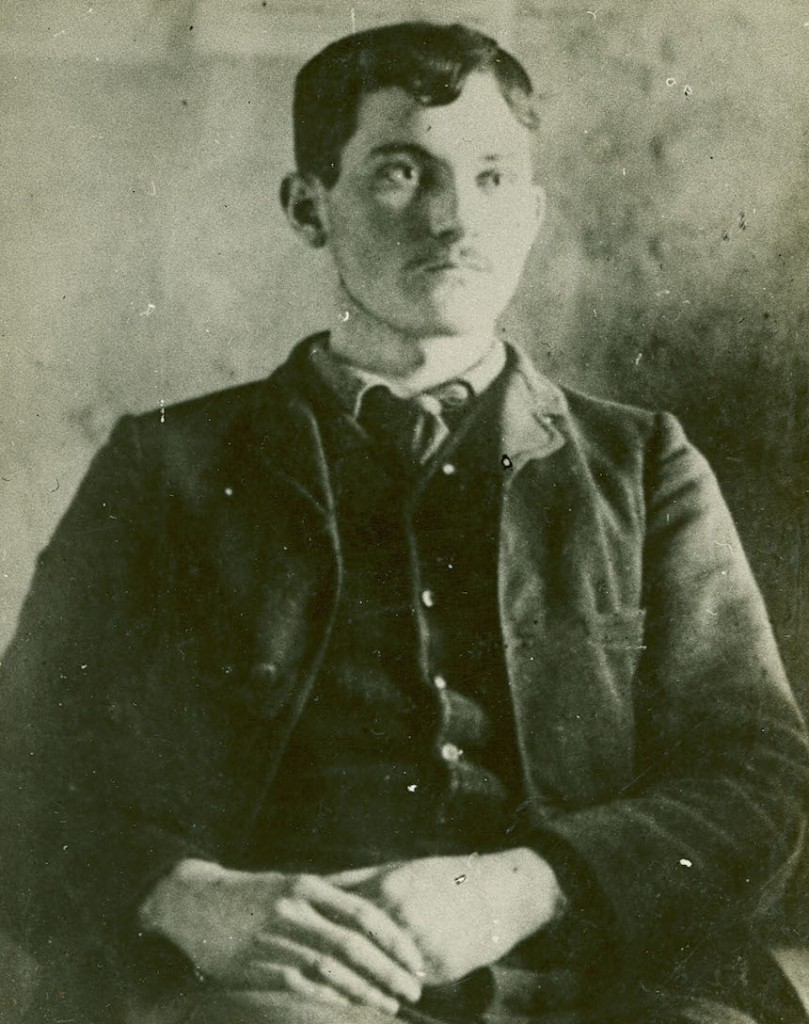 "William ""Billy"" Walker, assistant chieftain of the Christian County Bald Knobbers, was just a teenager when he led a masked mob to avenge William Edens for insulting him. (Courtesy of The State Historical Society of Missouri)"