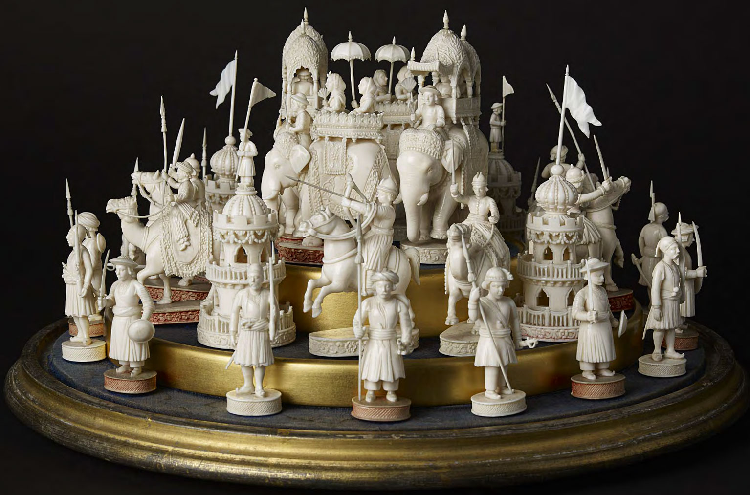 The art of war exquisite chess sets once captured the game s global heritage collectors weekly - Ornate chess sets ...