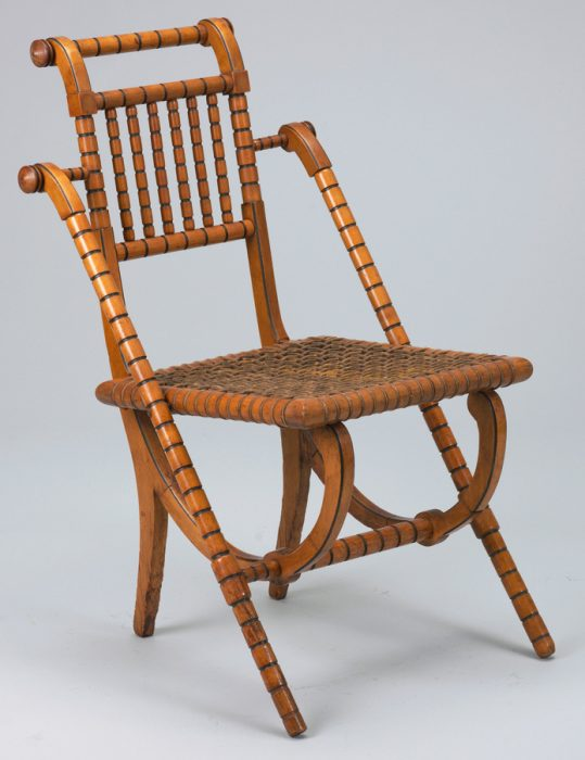 A Hunzinger Side Chair In A Neoclassical Form, Circa 1869. Via The Cooper  Hewitt