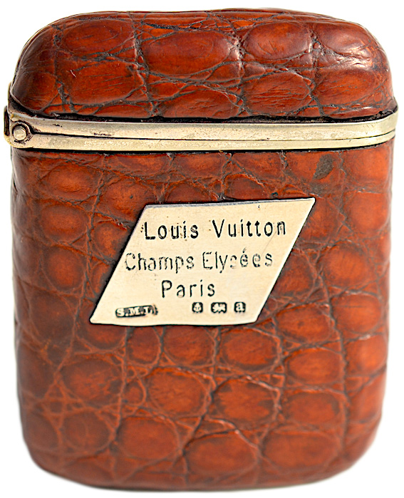 A Louis Vuitton match holder reveals how these utilitarian accessories were elevated to the realm of luxury goods.