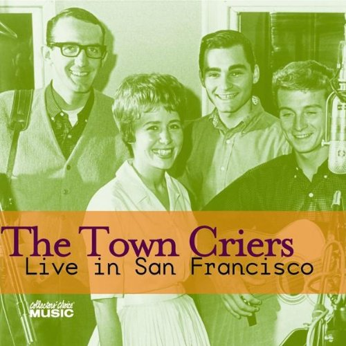 Between is solo career and Jefferson Airplane, Balin (top right) sang with a folk outfit called the Town Criers.