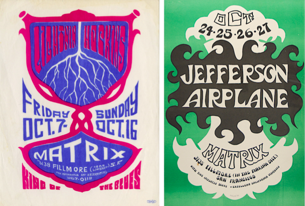 By 1966, the Matrix was still booking blues musicians like Lightin' Hopkins and the club's house band, Jefferson Airplane.