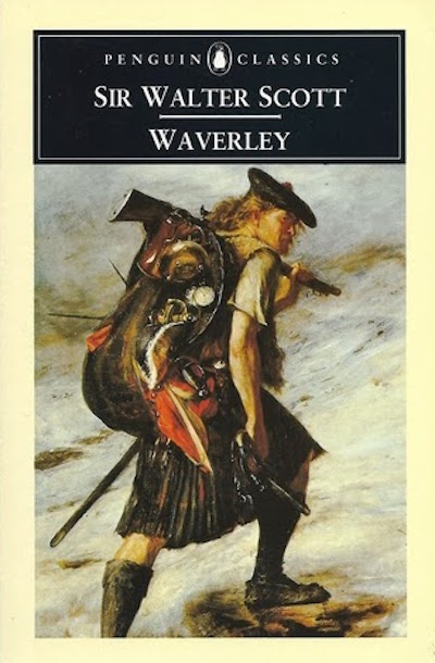 "Sir Walter Scott first romanticized the Jacobite Risings in prose fiction in 1814's ""Waverley,"" a historic novel that became hugely popular in the United Kingdom."