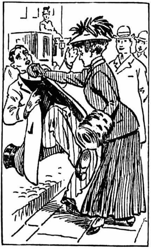 In 1908, a masher was startled to discover that a woman he had been following through Manhattan was hiding a boxing glove in her fur muff. With a swift jab, she knocked him to the ground. Then, according to newspaper reports, she refused to give her name to the police.