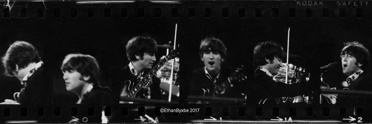 John Lennon, August 29, 1966, San Francisco. Photograph Eric Weill, 1966. Copyright Ethan Byxbe, 2017.