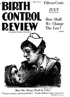 "The July 1919 cover of Margaret Sanger's ""Birth Control Review."" (Via WikiCommons)"