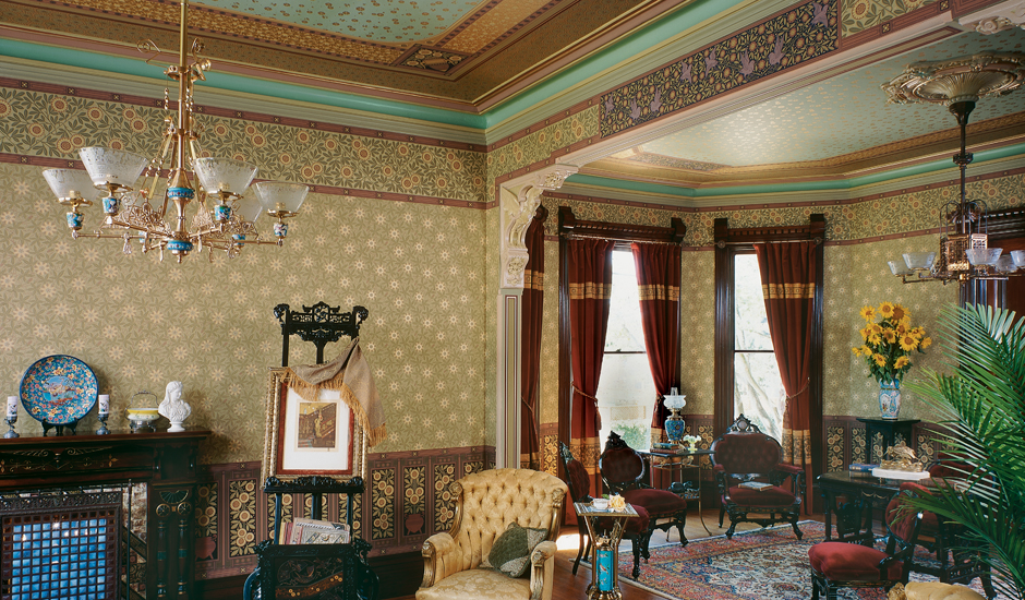 Herter Brothers of New York designed interiors for many of the titans of the Gilded Age.