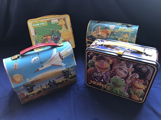 Vintage lunchboxes have been an important part of Cerny and Nelson's business since the 1990s.