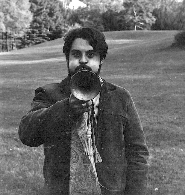 Larry Boyce in Michigan, 1967. Photo by Efrem Goldberg.