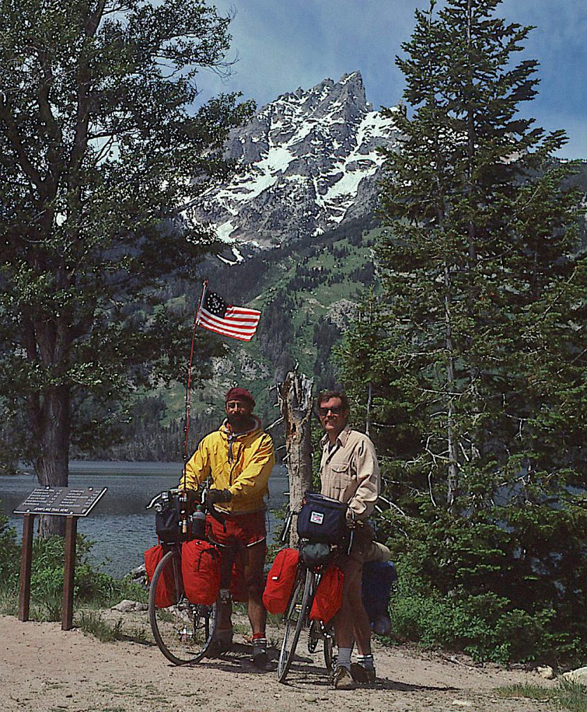 Larry Boyce (left) and Ken Huse in the Colorado Rockies.