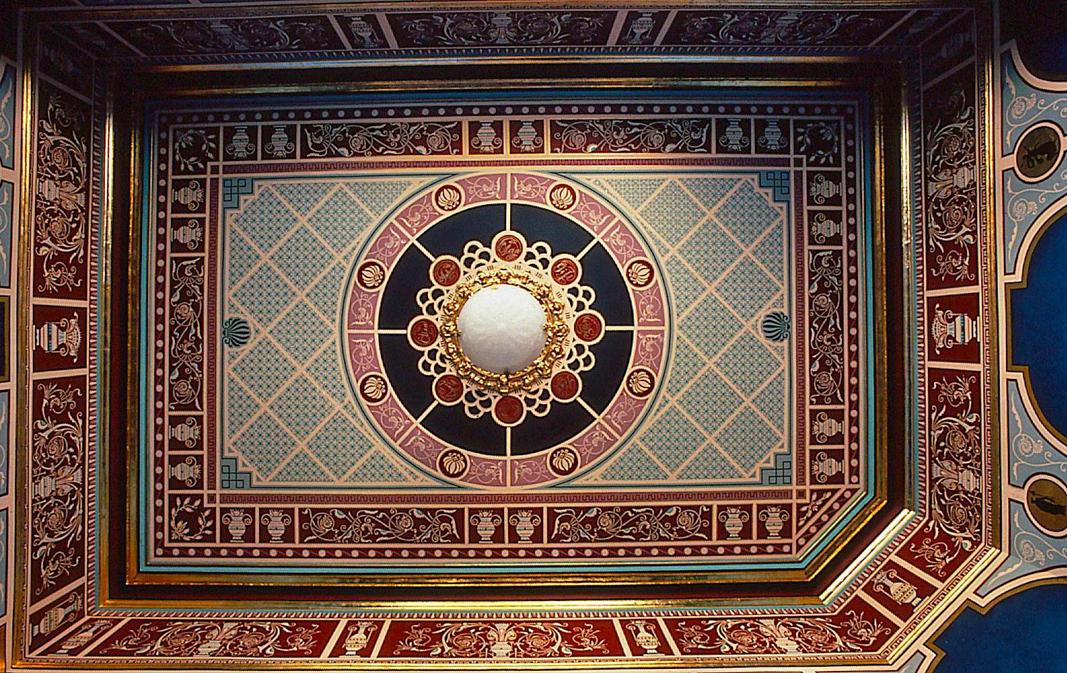 Victorian Ceiling Stencils