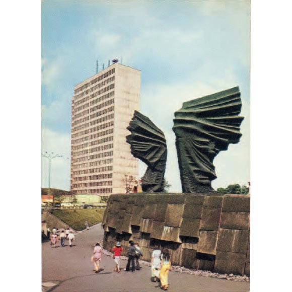 squarebrutal_silesianinsurgentsmonument_silesiapoland_built1967_postcard1967