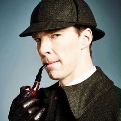 "Benedict Cumberbatch in the BBC's ""Sherlock."""