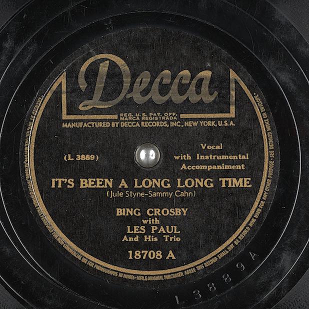 Les Paul Bing Crosby Decca
