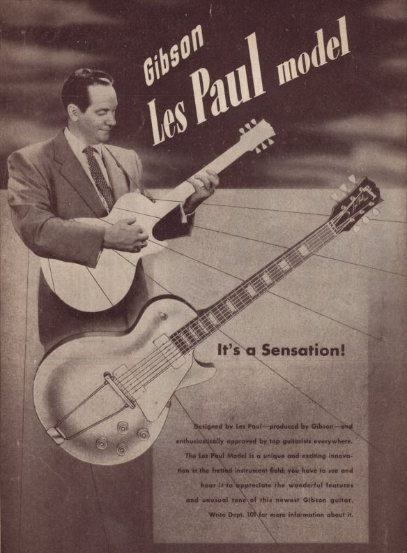 Advertisement for the 1952 Les Paul