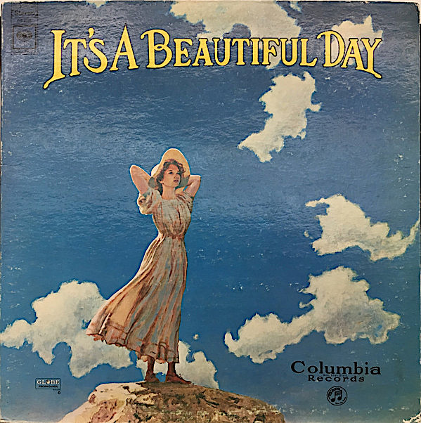 George Hunter's design for the cover of It's a Beautiful Day's first album was the catalyst for David Singer to see the band at the Fillmore, after which he quit his day job to try and make it as an artist.