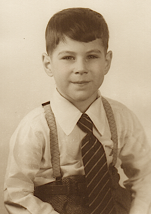 David Singer, circa 1940s, Quakertown, Pennsylvania.