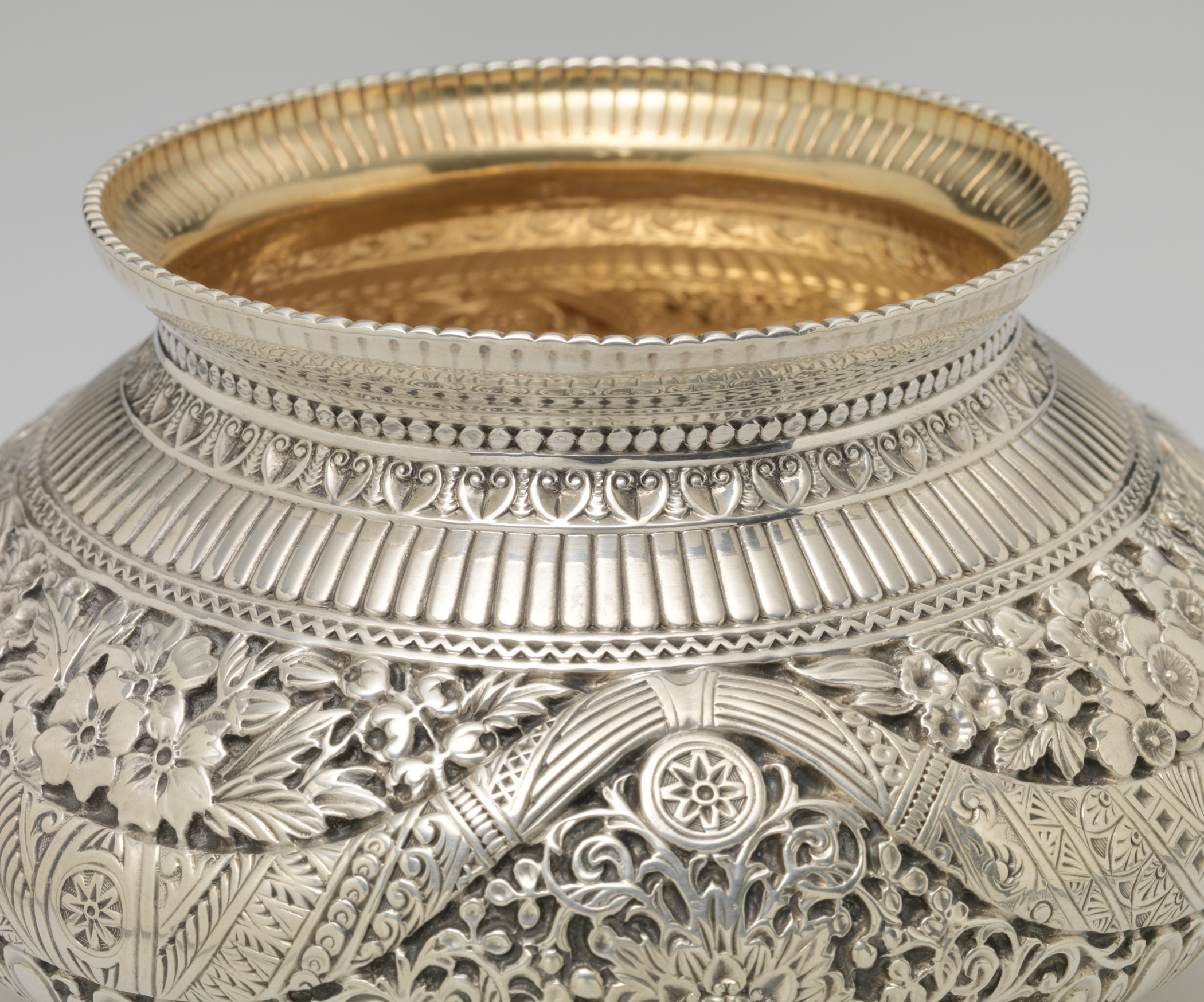 Gorham Manufacturing Company, Waste Bowl, 1886. Elizabeth T. and Dorothy N. Casey Fund. RISD Museum, Providence, RI.
