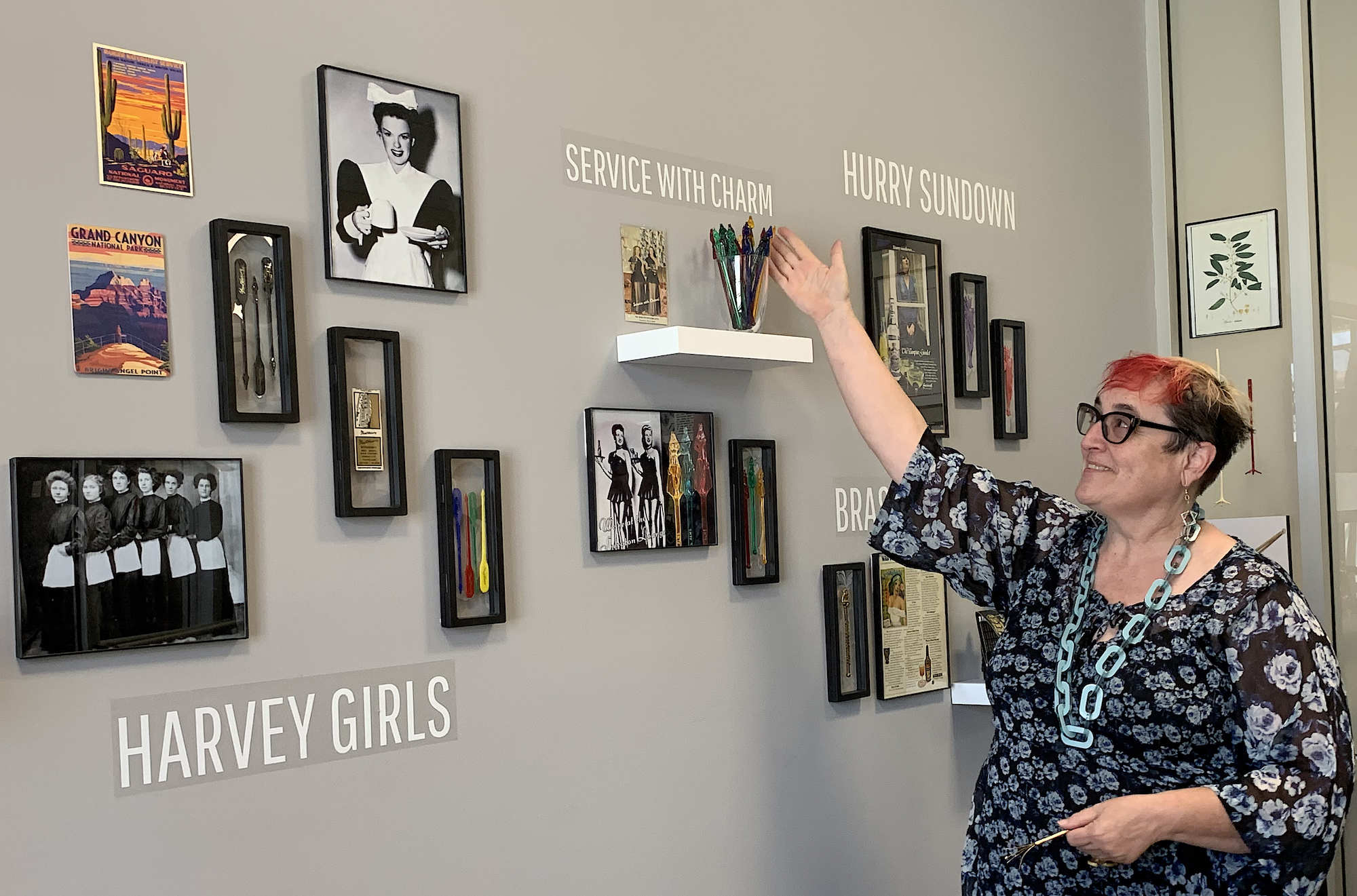 Recently, Pam Ashlund organized a very small part of her collection into a mini-exhibition in her office at the Natural History Museum of Los Angeles County.