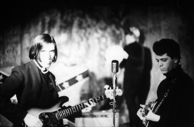 John Cale (left) and Lou Reed (right) of the Velvet Underground were discovered by Andy Warhol at Café Bizarre in December 1965. Photo: Adam Ritchie/Redferns/Getty Images.