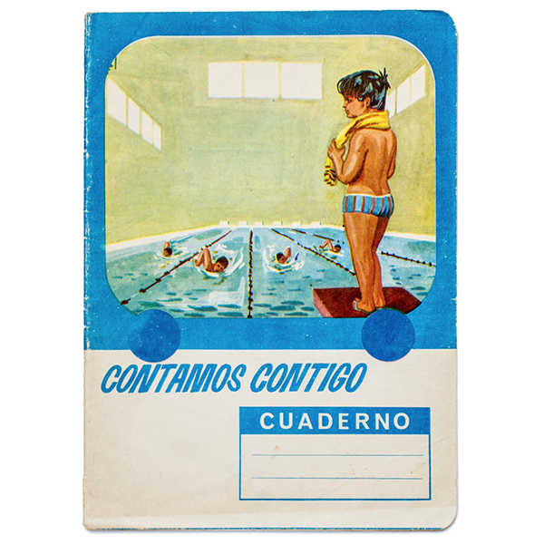 An exercise book from Novelda, Spain, c. 1970-1971.