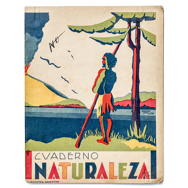 Another exercise book from Argentina, c. 1952.