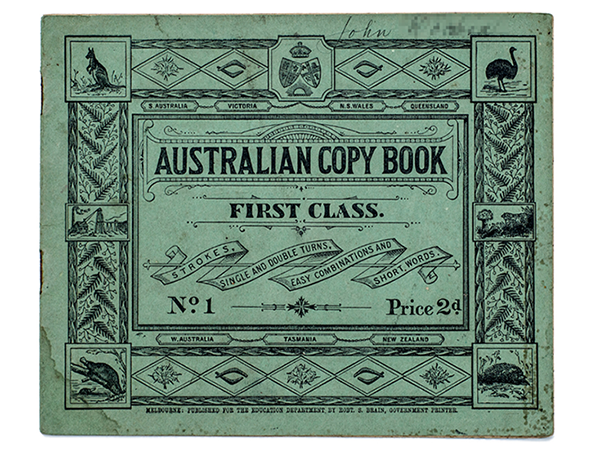 An Australian notebook from 1904-1905.