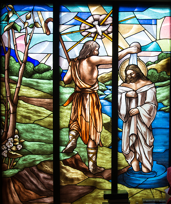 The Baptism of Jesus, St. Joseph the Worker Church, Thornhill, Ontario.