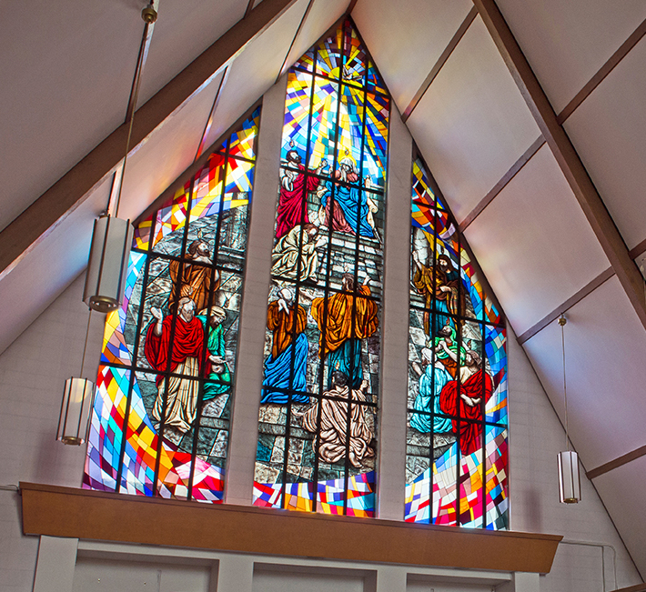 The Pentecost, St. Dominic's Roman Catholic Church, Oakville, Ontario.