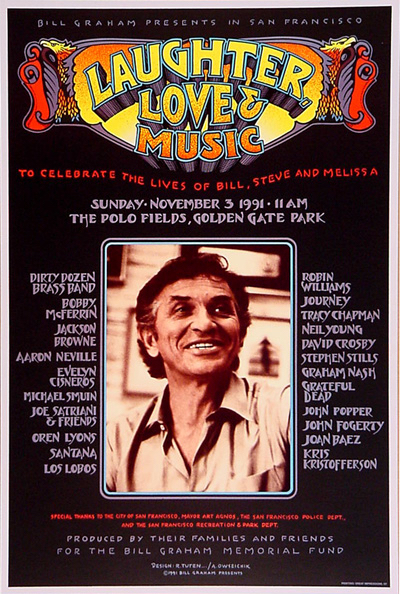 Laughter, Lover & Music, November 3, 1991, The Polo Fields.