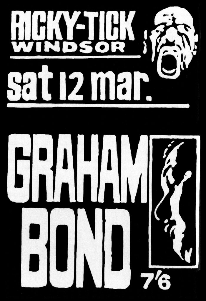 Graham Bond is said to be the first Brit to play a Hammond organ through a Leslie speaker.