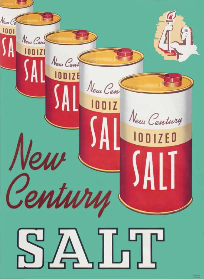 New Century Salt, circa 1949.